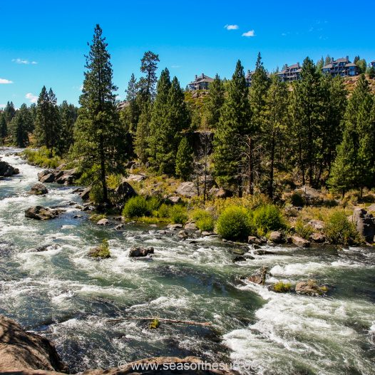 Der Crooked River in Bend, Oregon