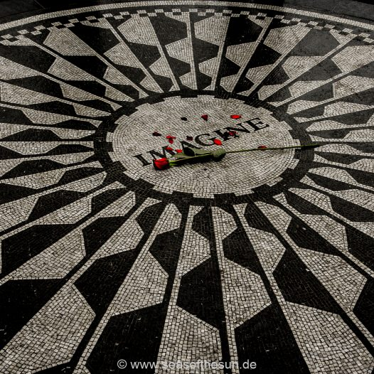 Central Park - Strawberry Fields for ever...